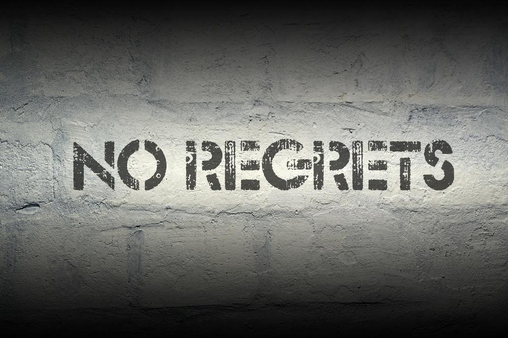Pas de regret