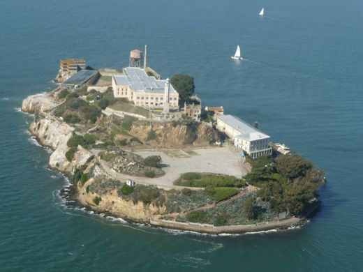 Prison de Alcatraz à San FranciscoPrison de Alcatraz à San Francisco