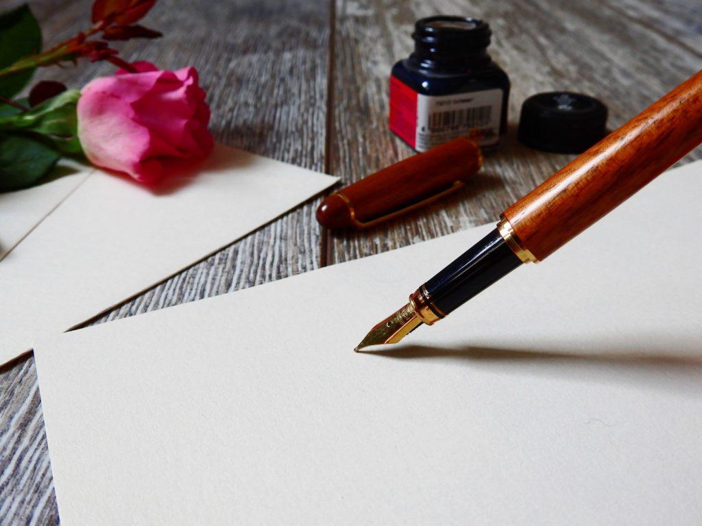 Ecrire une lettre